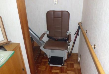 階段昇降機 施工事例71「昇助くんSEC9KS」