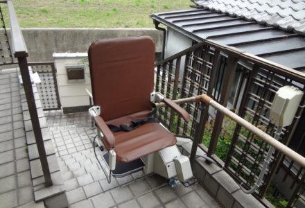 階段昇降機 施工事例73「昇助くんSEO9-L」
