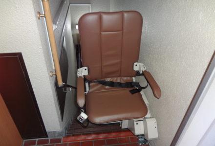 階段昇降機 施工事例76「昇助くんSEC9K-L」