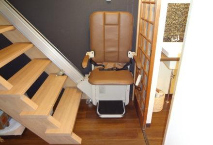 階段昇降機 施工事例82「昇助くんSEC9K-R」