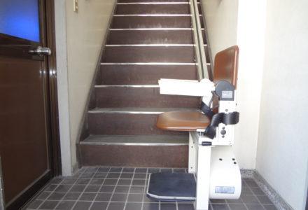 階段昇降機 京都府 施工事例87「タスカルSTⅢ」