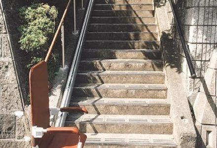 階段昇降機 滋賀県 施工事例95「昇助くんSEO9」