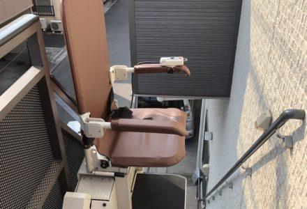 階段昇降機 東京都 設置事例109 「昇助くんSEO9」