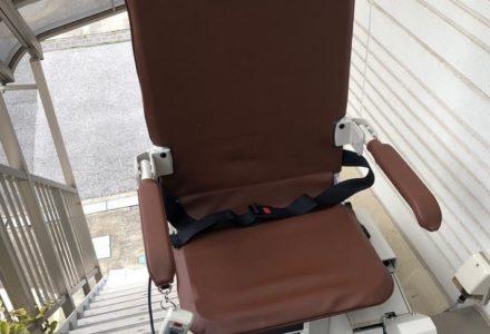 階段昇降機 東京都 設置事例112 「SEO9-L」