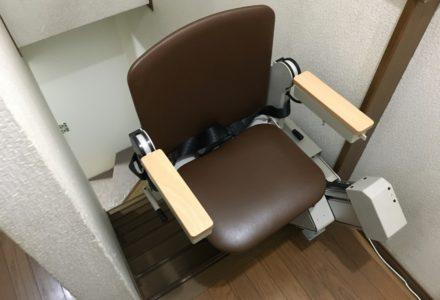 階段昇降機 大阪府 設置事例121 「タスカルSTⅢ」