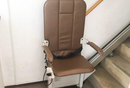 階段昇降機 東京都 設置事例119 「SEC9K-L」