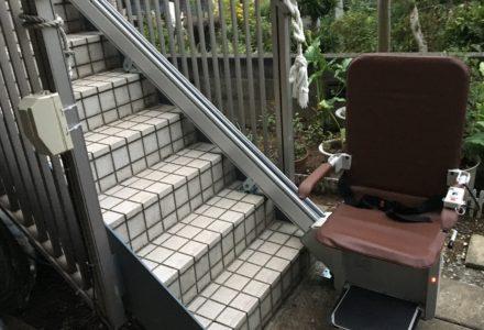階段昇降機 神奈川県 設置事例127 「昇助くん SEO9」