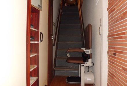 階段昇降機 施工事例68「昇助くんSEC9」