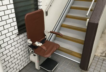 階段昇降機 東京都 設置事例131 「昇助くん SEO9」