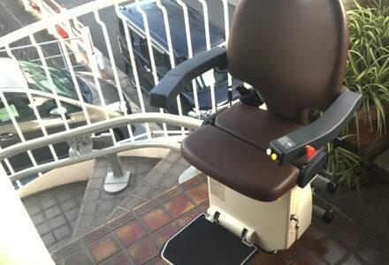 階段昇降機 レンタル 神奈川県 設置事例139 「昇助くん NRO9」