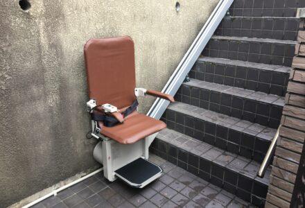階段昇降機 レンタル 京都府 設置事例148「昇助くんSEO9」
