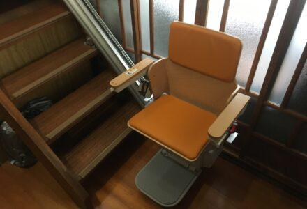 階段昇降機 レンタル 京都府 施工事例155「エスコートスリム」