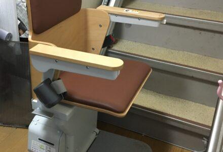 階段昇降機 レンタル 京都府 施工事例161「エスコートスリム」