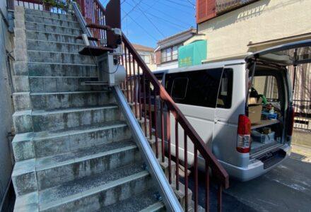階段昇降機 レンタル 千葉県 施工事例166「昇助くんSEO9」