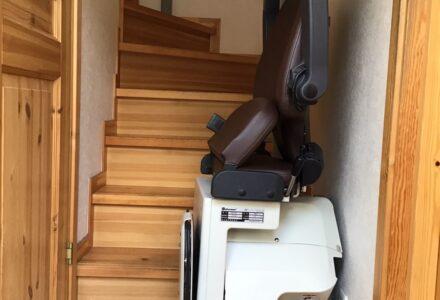 階段昇降機 レンタル 東京都 施工事例167「昇助くんNRE9」