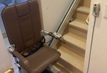 階段昇降機 レンタル 静岡県 施工事例184「昇助くんSEC9」