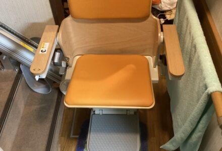 階段昇降機 販売 京都府 施工事例186「エスコートスリム」