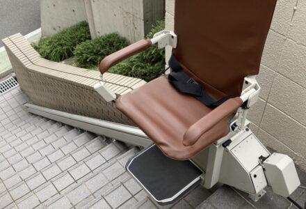 階段昇降機 レンタル 大阪府 施工事例187「昇助くんSEO9」