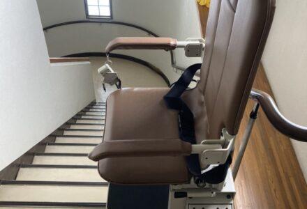 階段昇降機 レンタル 和歌山県 施工事例189「昇助くんSEC9」